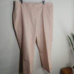 Lane Bryant Polka Dot Capri Pants
